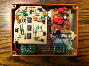 Uniphase Phaser / Impulse Tremolo Internals